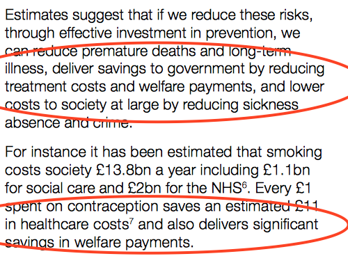 PHE Welfare Payments