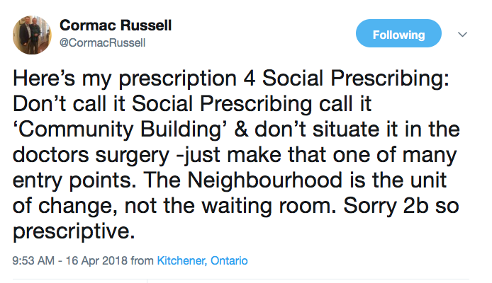 General Practice – Social Prescribing, Medical Evidence Letters and